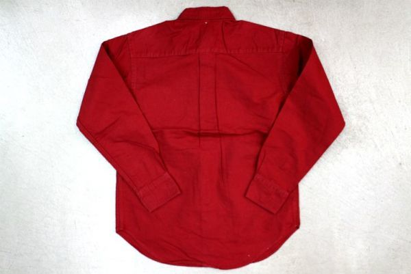 【Lady's 古着 Ralph Lauren 長袖 ボタンダウン オックスフォード シャツ 赤 S】ラルフローレン BDシャツ カジュアル_画像3