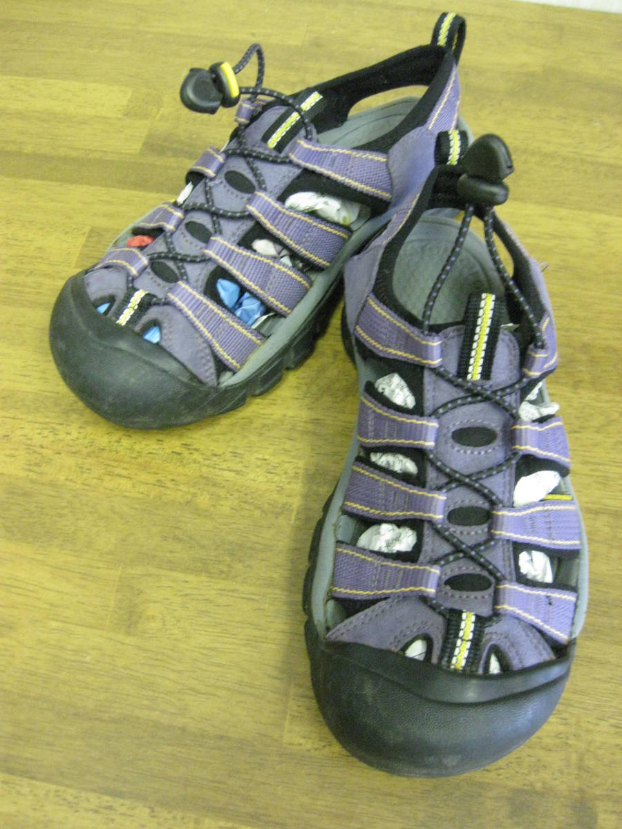 963ffb0fa0ff KEEN NEWPORT H2 sandals purple wi men s 24 USED key n new port outdoor