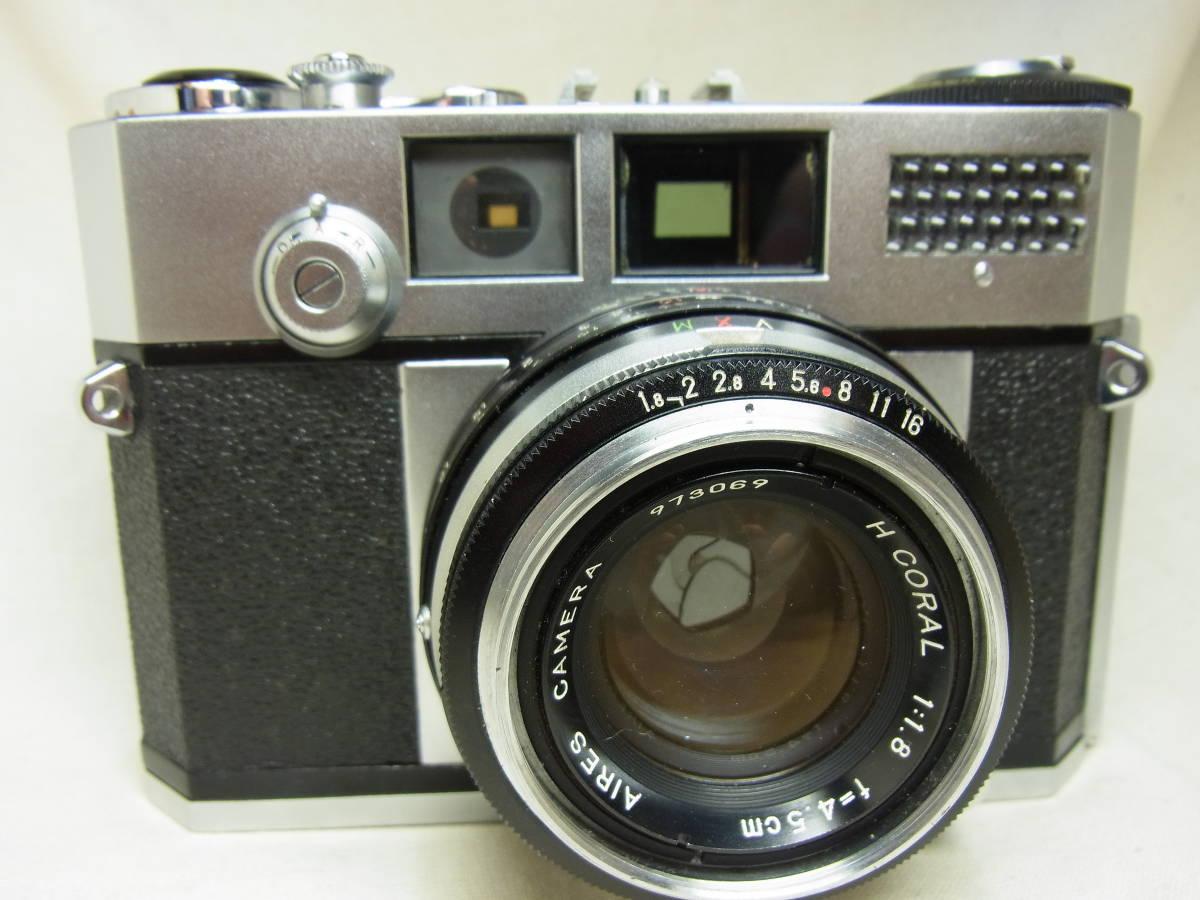 Aires 35Ⅲs アイレス 35Ⅲs 動作確認済み 状態良好なカメラです。_画像2