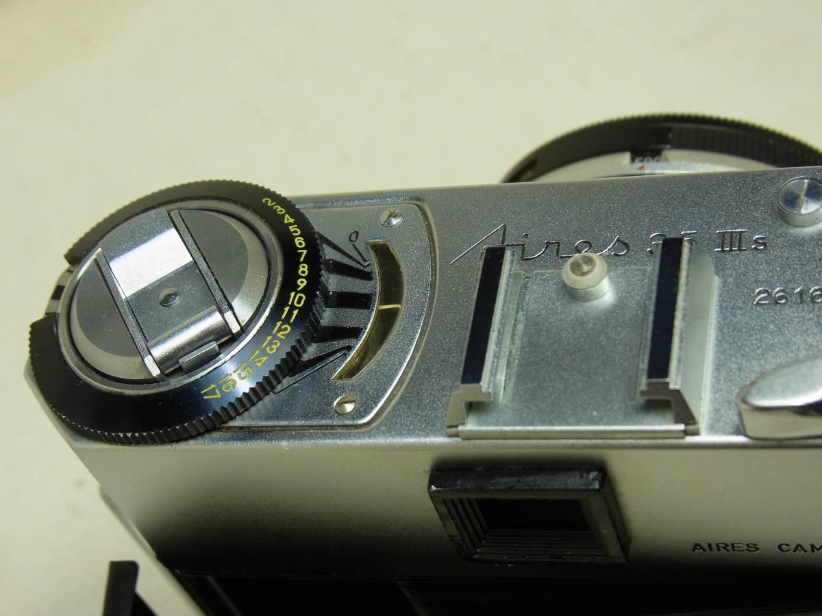 Aires 35Ⅲs アイレス 35Ⅲs 動作確認済み 状態良好なカメラです。_画像9
