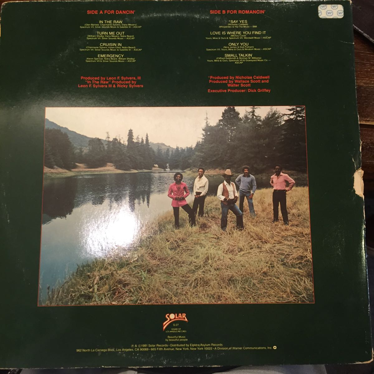 ◆WISPERS 「Love is Where You Find It」中古レコード_画像2