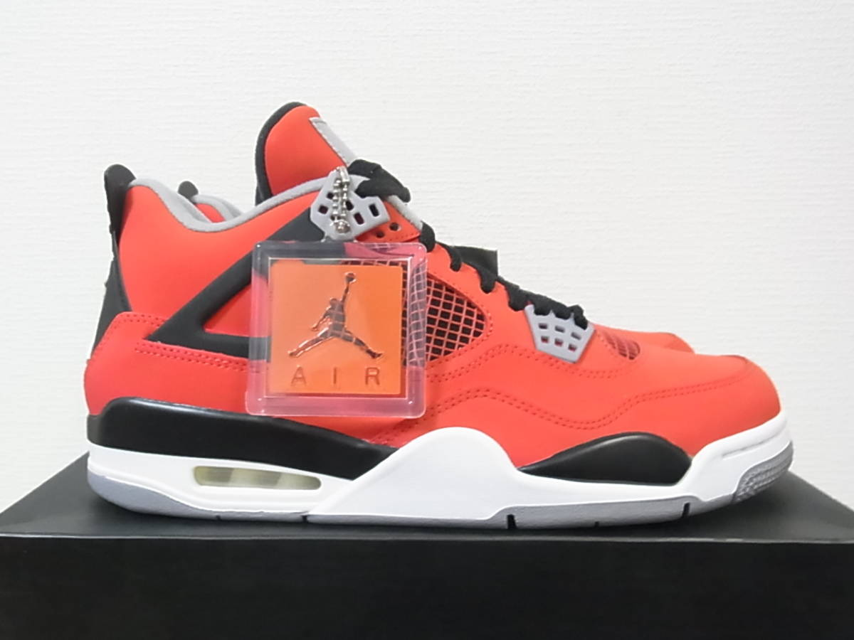 separation shoes cb252 03078 国内新品 NIKE AIR JORDAN 4 RETRO TORO BRAVO FIRE RED WHITE BLACK CEMENT GREY OG