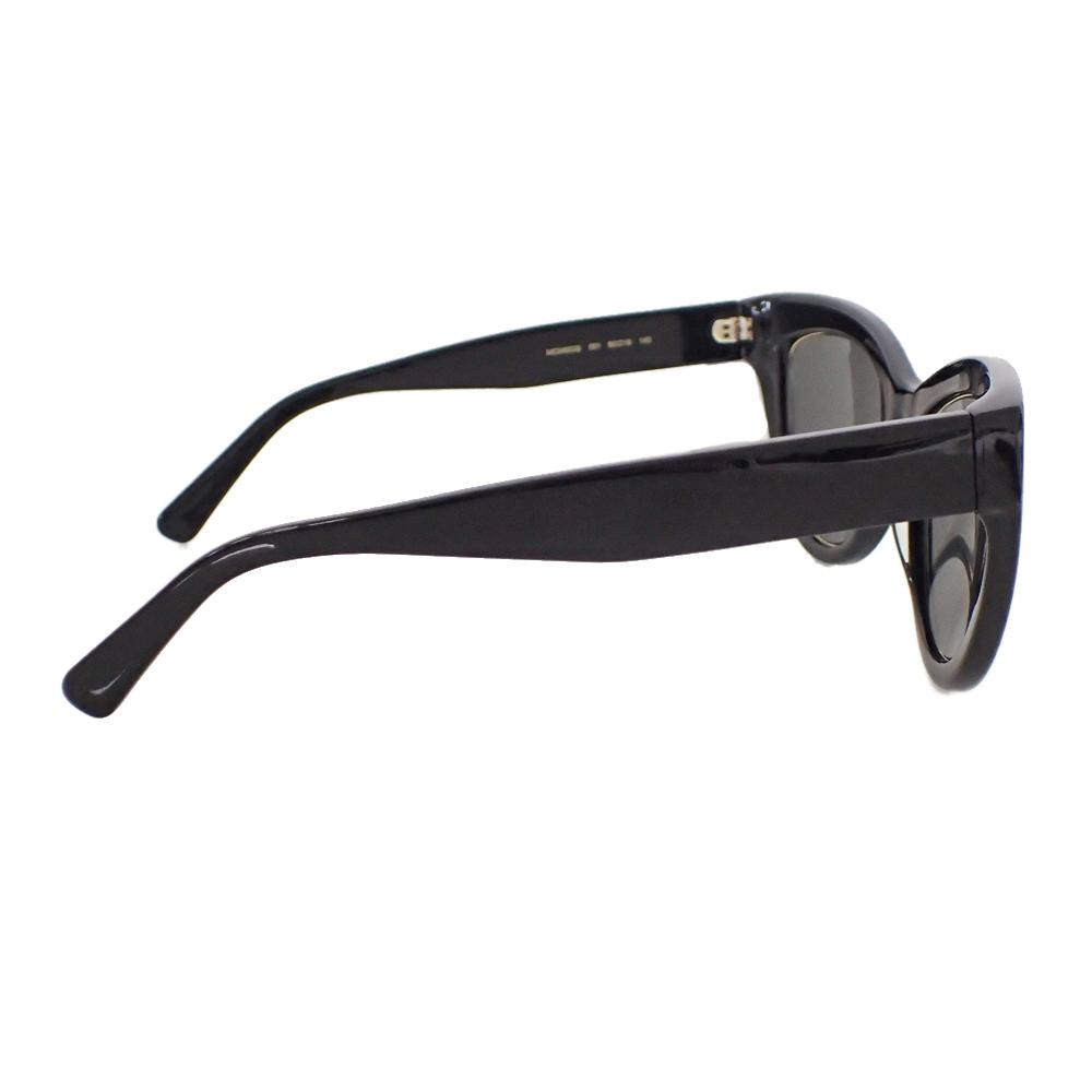 【新品未使用】MCM サングラス 眼鏡 MCM63S キャッツアイ ロゴ デザイン フォックス型 セルフフレーム アイウェア ブラック I0576_画像6