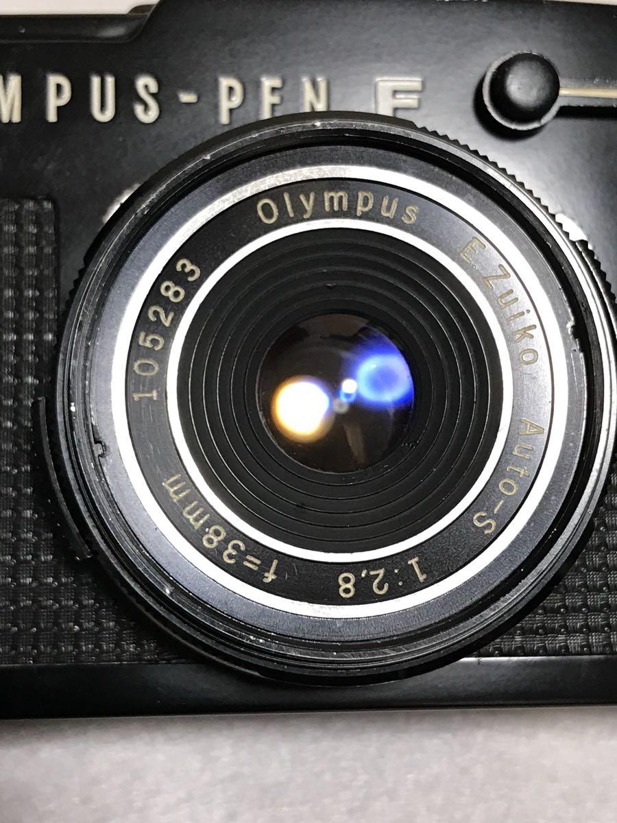OLYMPUS PEN-FT BLACK 38mm f2.8 パンケーキ付き_画像4