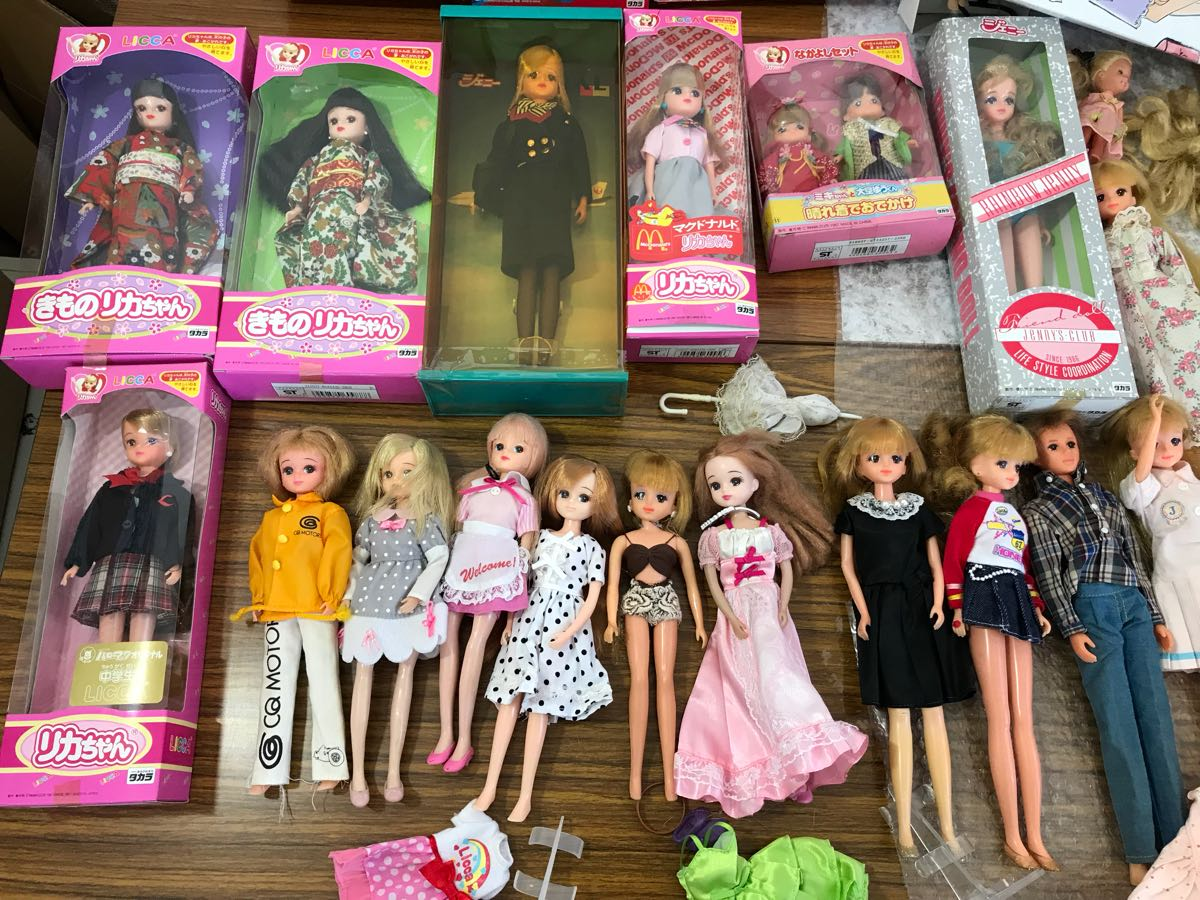 リカちゃん人形 バービー人形 ジェニー 服 くつ 小物 ドレス りかちゃん LICCA 着物 マクドナルド 晴れ着 中学生 まとめ売り 大量_画像5