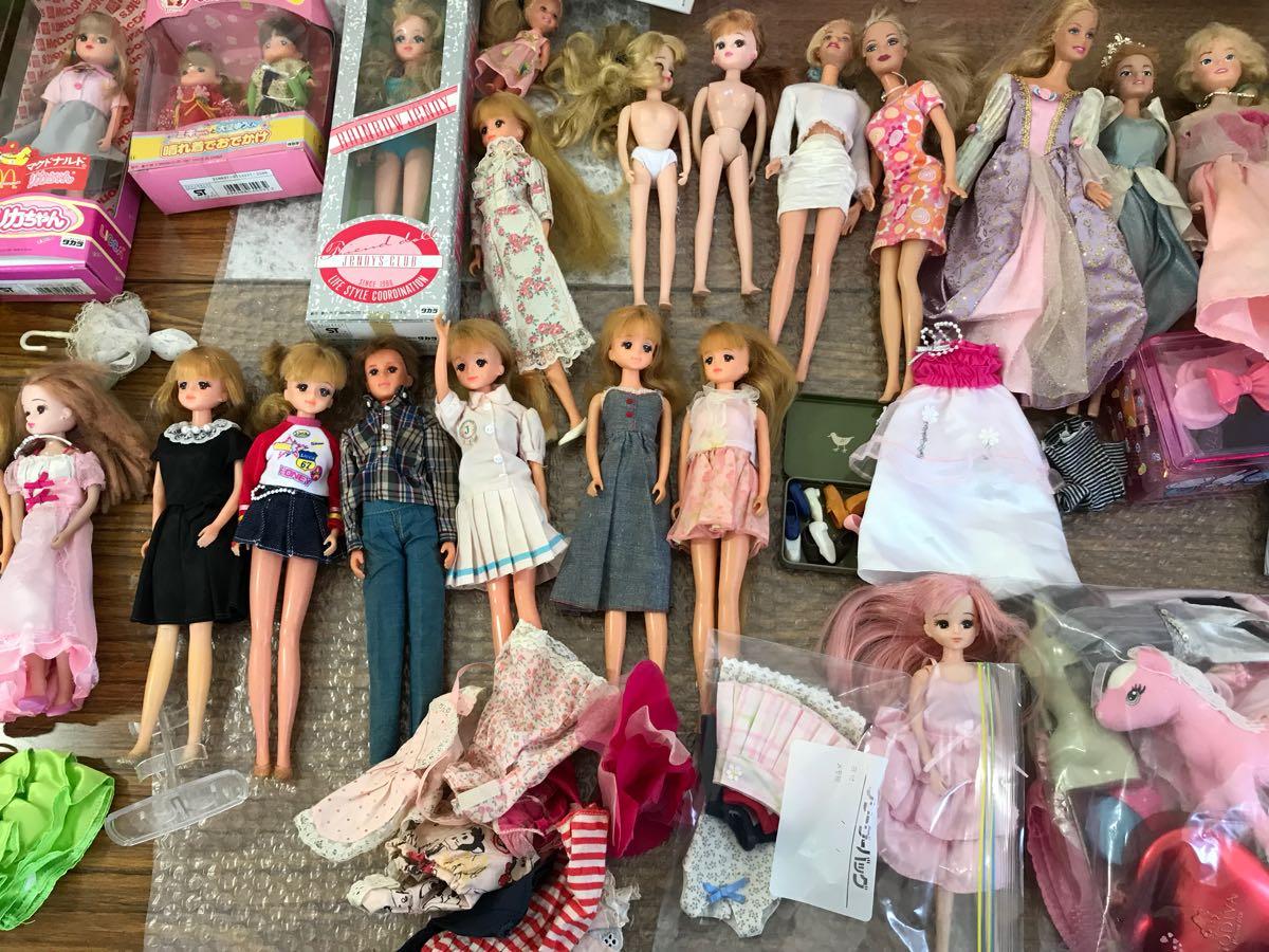 リカちゃん人形 バービー人形 ジェニー 服 くつ 小物 ドレス りかちゃん LICCA 着物 マクドナルド 晴れ着 中学生 まとめ売り 大量_画像6