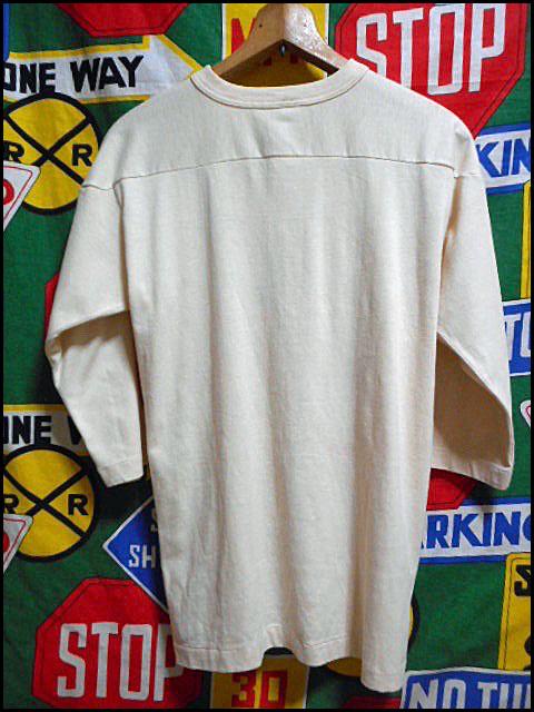 ★3列染み込みプリント★Made in USA製アメリカ製ChampionチャンピオンビンテージカレッジフットボールTシャツ80s80年代MトリコタグHARVARD_画像3