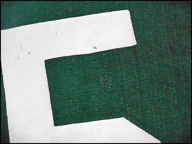 ★希少なエルボーパッチ付きの1枚★Made in USA製アメリカ製ChampionチャンピオンビンテージナンバリングフットボールTシャツ70sバータグ緑_画像8