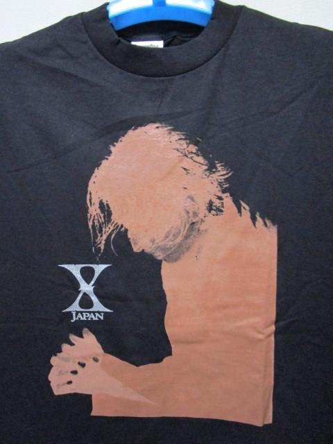 レア!1997年 X JAPAN THE LAST LIVE Tシャツ(1997年12月31日東京ドームライブYOSHIKI TOSHI HIDE PATA HEATH)_画像2