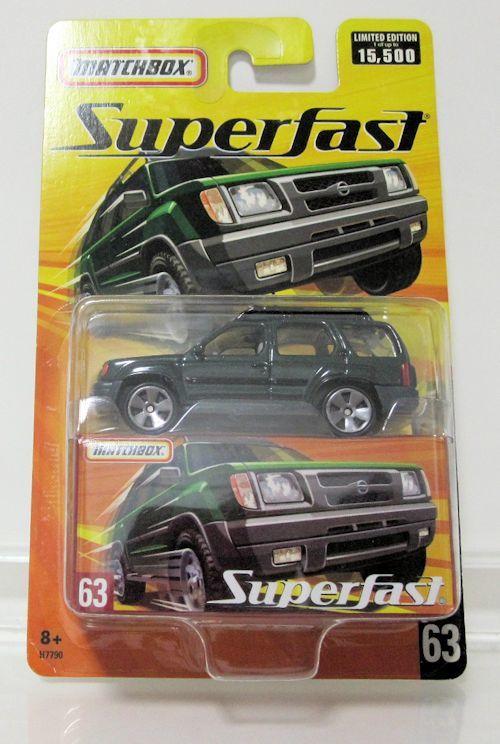 Matchbox Super First Nissan Xterra Green Real Yahoo Auction Salling
