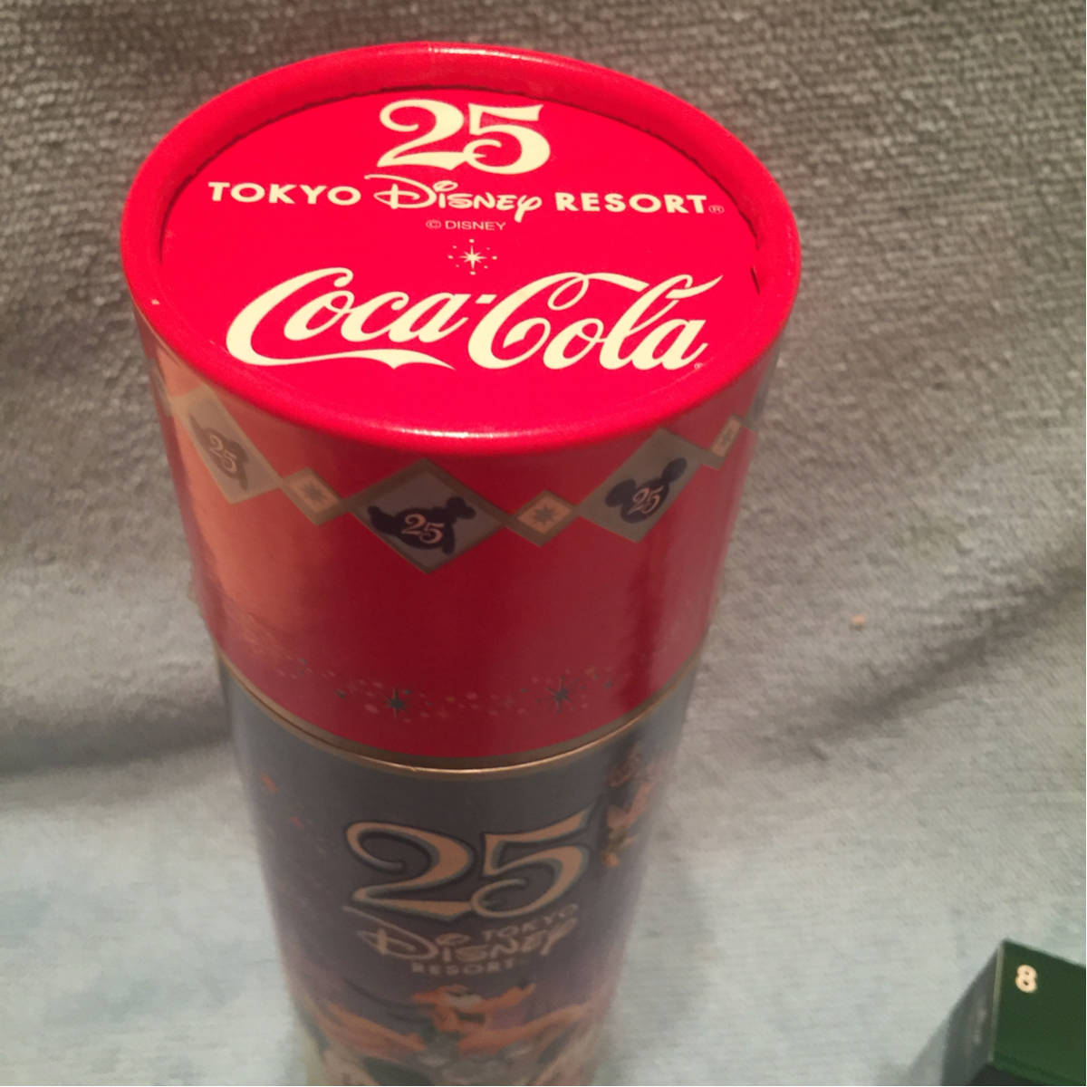 ディズニー 25周年《コカコーラ・当時物》未開封保管品《現状現品渡し》コレクション保管品_画像3