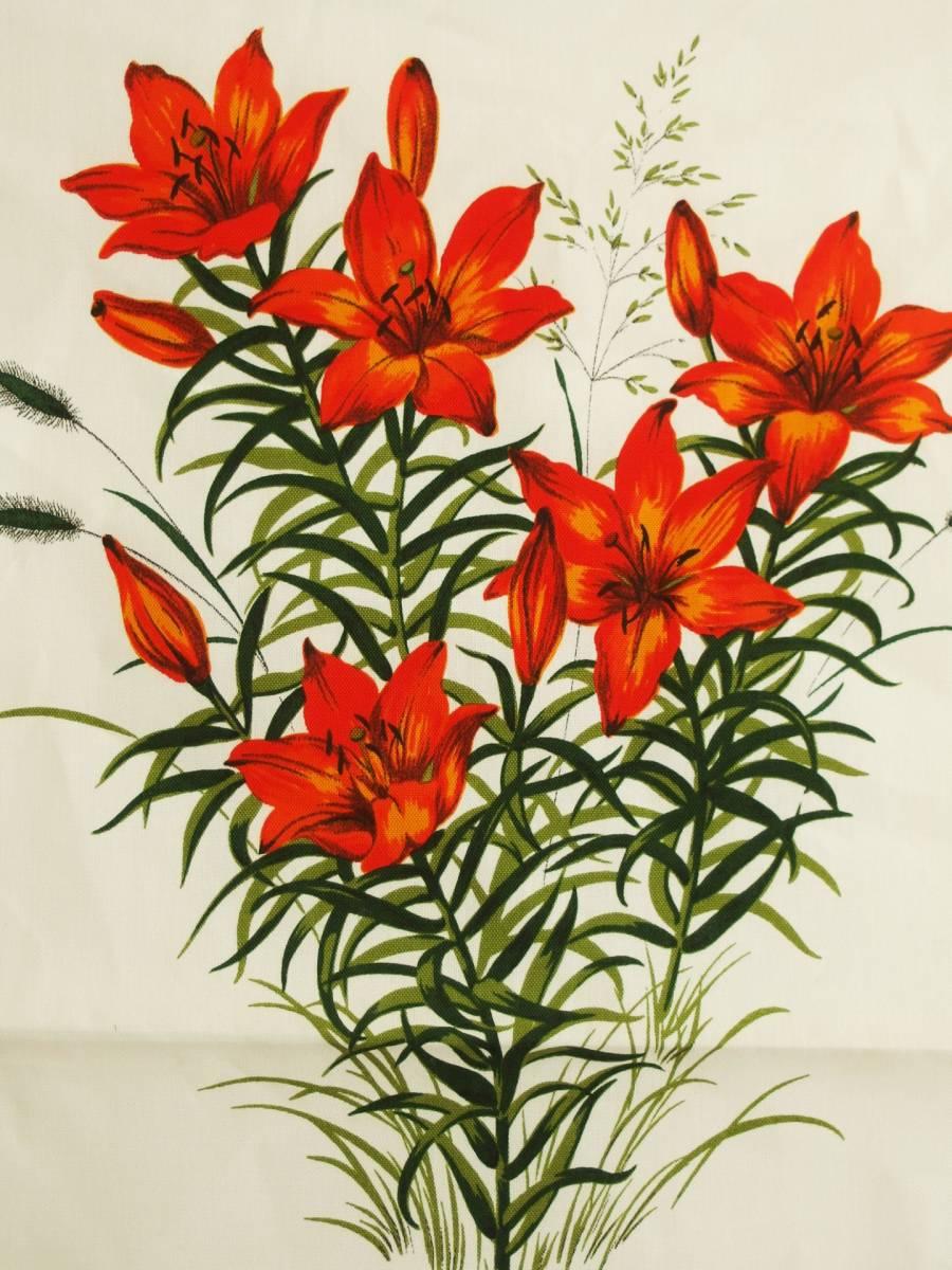 Lilium maculatum (ToruYuri) has been painted.