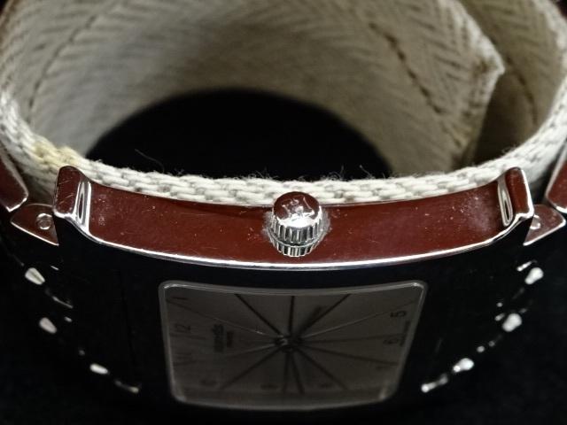 1円~HERMES エルメス HH1.510 Hウォッチ 腕時計 中古美品 電池切れ_画像3