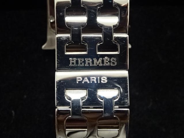 1円~HERMES エルメス HH1.510 Hウォッチ 腕時計 中古美品 電池切れ_画像4