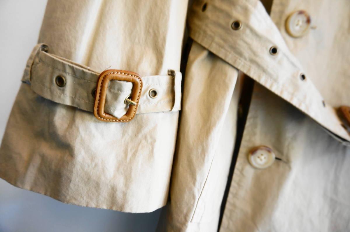 ポロ ラルフローレン Polo Ralph Lauren コート トレンチコート (ベージュ) size LL 美品(替えボタン付) 491887_画像6