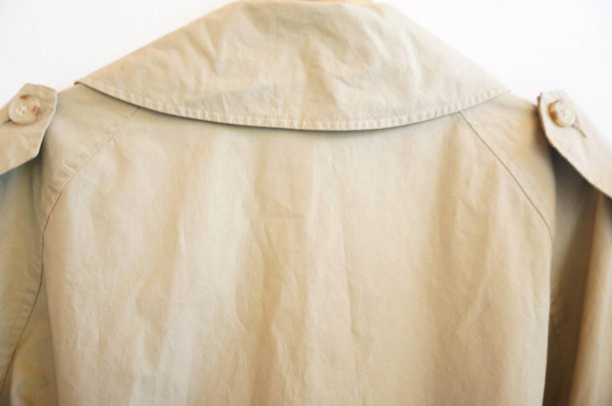 ポロ ラルフローレン Polo Ralph Lauren コート トレンチコート (ベージュ) size LL 美品(替えボタン付) 491887_画像8