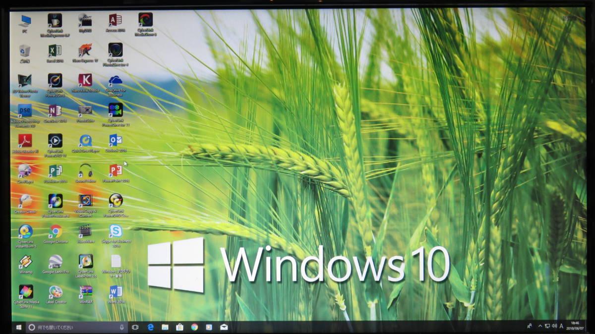 秒速起動Core i7 第 2 世代 / 8GB /新SSD160GB+1000GB★自作PC G-Gear★NVIDIA 210★Office2016 ★Windows10 ◆電源 80PLUS ★値下げ。即決_画像3