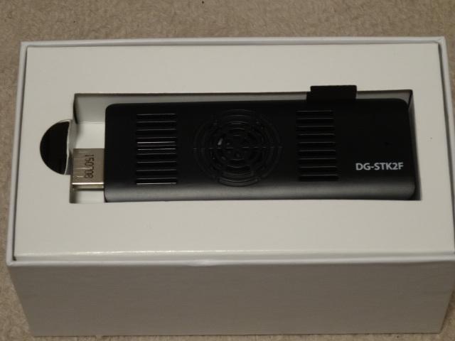 スティック型PC Diginnos WIN10 DG-STK2F 中古 美品 ドスパラ