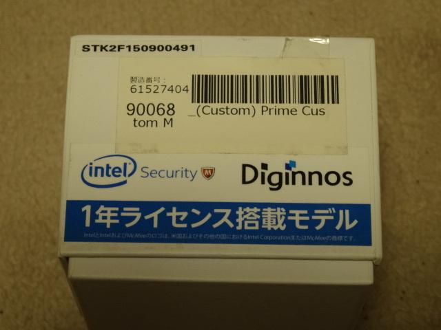スティック型PC Diginnos WIN10 DG-STK2F 中古 美品 ドスパラ_画像4
