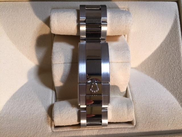 国内正規品・試着のみのデイトナ・アイスブルー116506LN バッケツトダイヤ付き 新品未使用品です!!_画像4