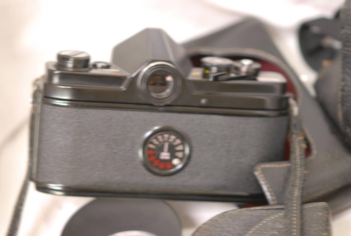 Minolta ミノルタ SR-1 レンズ Minolta auto rokkor-pf 1:2 f=55mm 保護フィルター2枚フード付き ケース付き ブラック_画像9