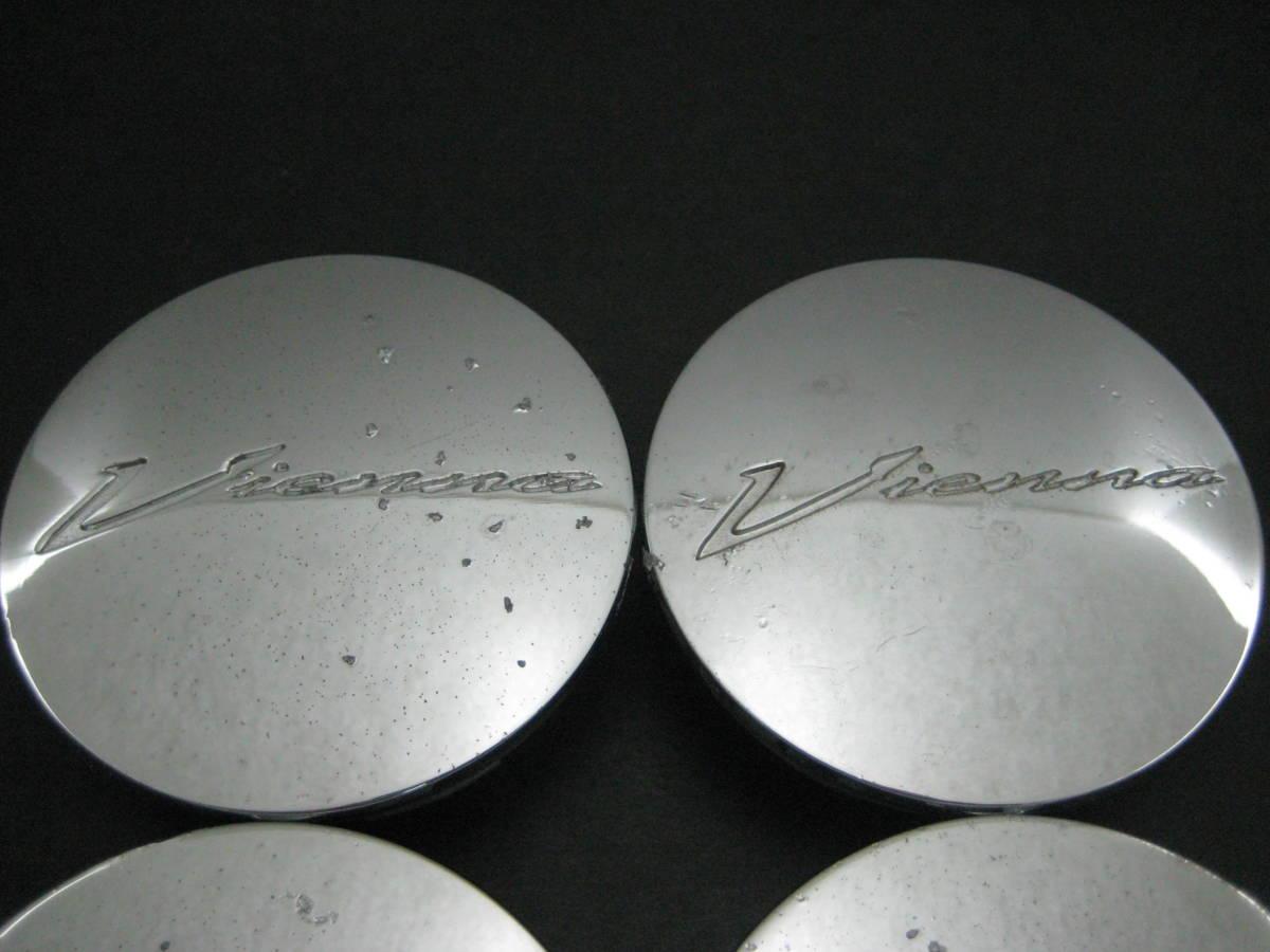Y3906 SSR ヴィエナ Vienna アルミホイール用センターキャップ中古4個 SPEED STAR_画像2
