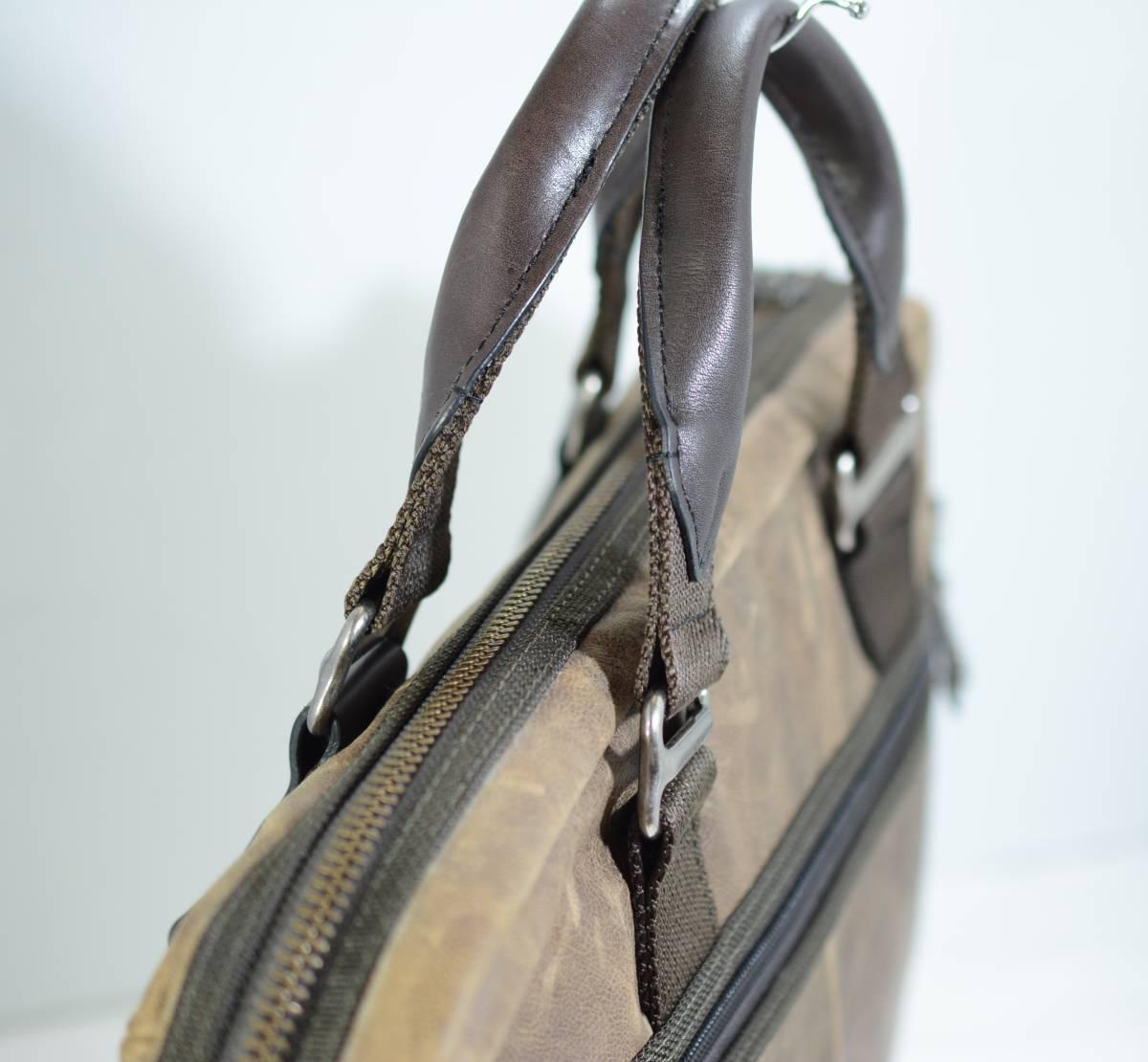 ☆美品 TUMI トゥミ ビジネスバッグ ブリーフケース バッグ 茶色 ブラウン☆高級書類鞄☆_画像5