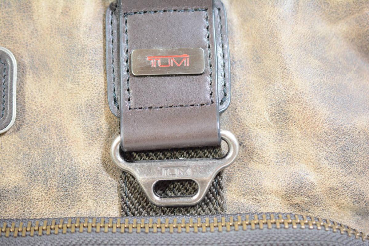 ☆美品 TUMI トゥミ ビジネスバッグ ブリーフケース バッグ 茶色 ブラウン☆高級書類鞄☆_画像6