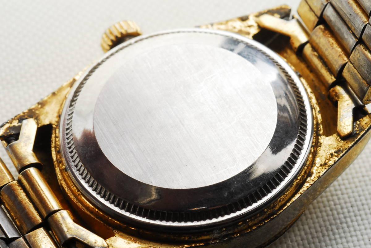 ロレックス ROLEX OYSTER PERPETUAL DATE JUST ゴールド 腕時計_画像3