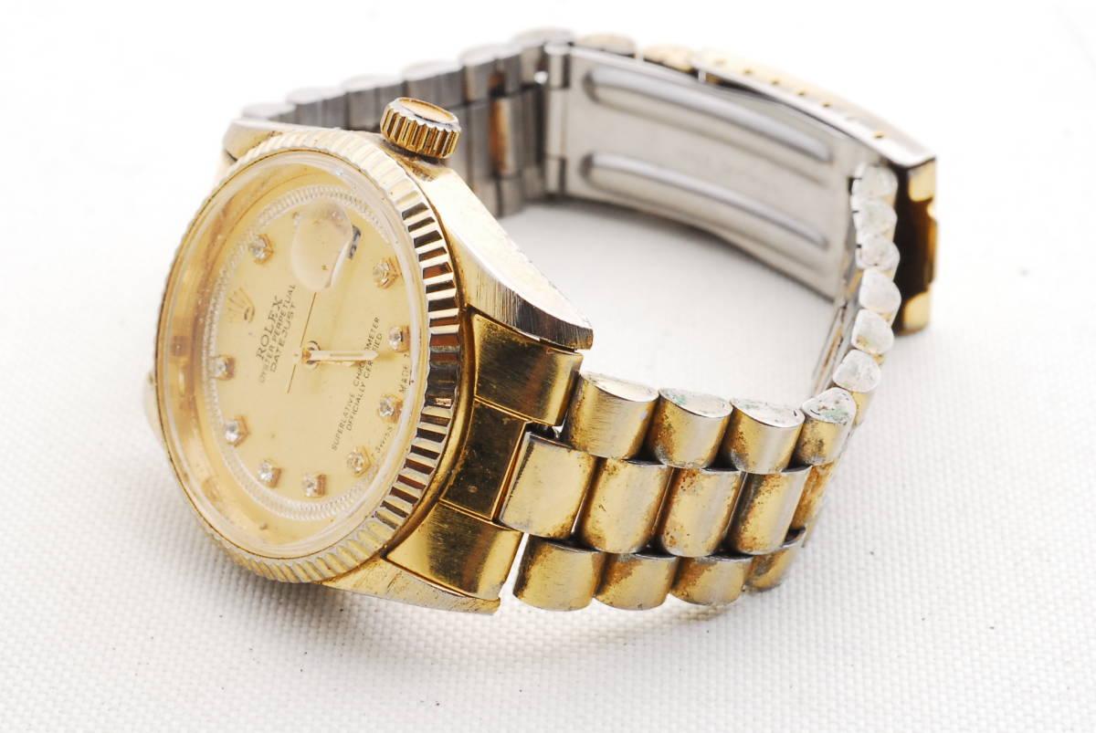 ロレックス ROLEX OYSTER PERPETUAL DATE JUST ゴールド 腕時計_画像5