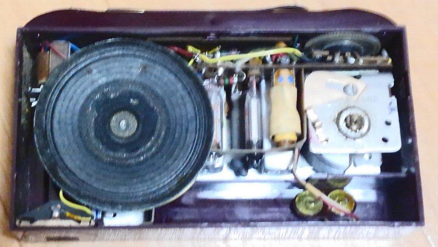 昭和レトロ・希少!Emerson 747 サブミニ管ラジオ 1953年 ジャンク_画像6