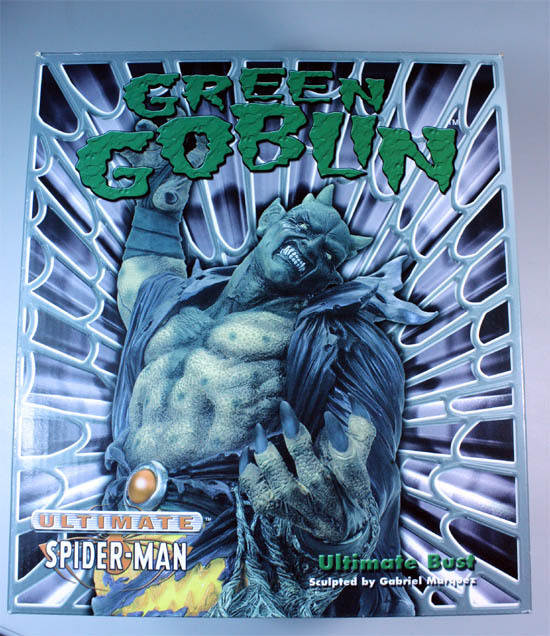 フィギュア-「DIAMOND SELECT:ULTIMED SPIDER-MAN, GREEN GOBLIN / アルティメット・スパイダーマン, グリーンゴブリン」新品未開封_画像1