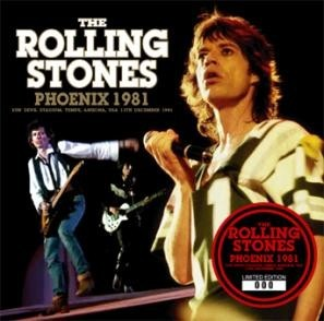 THE ROLLING STONES / PHOENIX 1981 (2CD) Numbered Stickered Edition 廃盤!