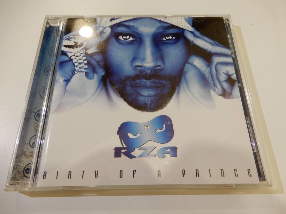 送料込●●RZA「Birth of a Prince」国内盤、日本語帯・解説あり、2004、WU-TANG CLAN、ウータンクラン、Bob N' I、Drink, Smoke And Fuck
