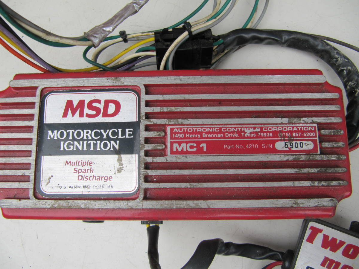 ... MSD MC1 ignition kit module britain character manual attaching ...
