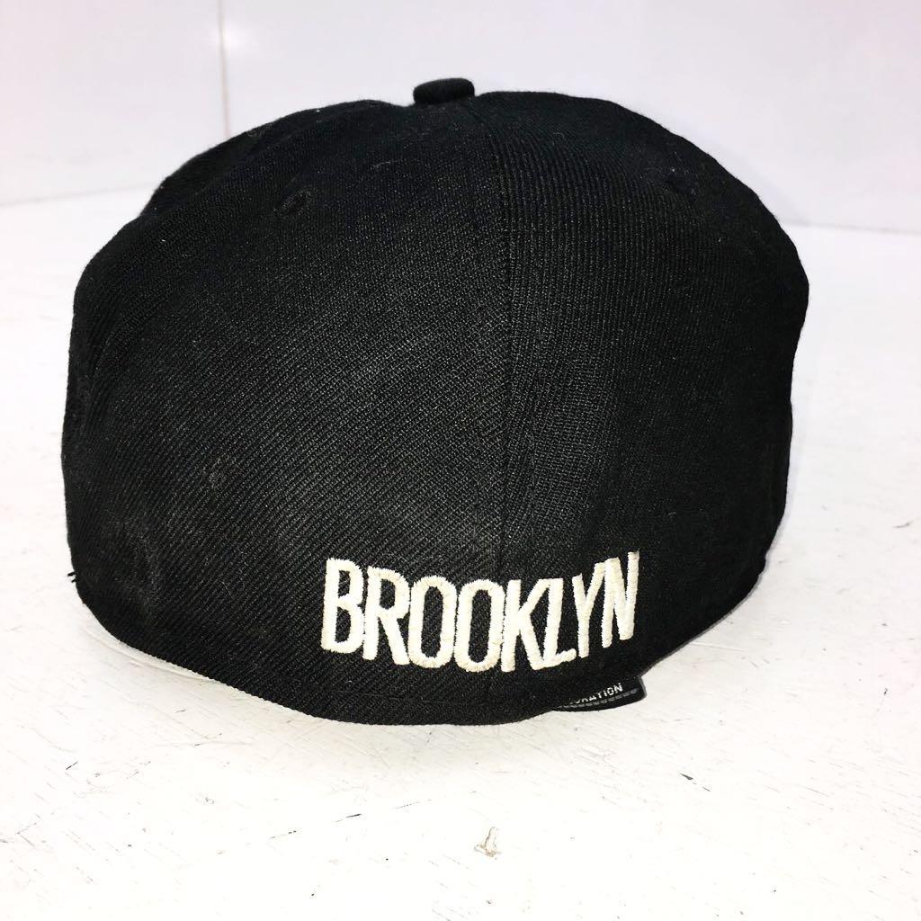 NEWERA 59 FIFTY Brooklyn Nets キャップ 7 1/2 ブルックリンネッツ ニューエラ 57.7cm_画像4