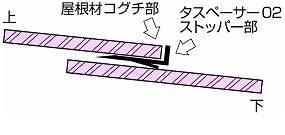 ●タスペーサー02☆ブラック●縁切り【1箱/500個】他商品混載OK!_画像3