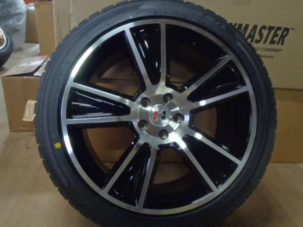 HURST STUNNER 20インチ ホイール タイヤ セット 展示品 クライスラー 300C ダッジ マグナム チャージャー チャレンジャー _画像2