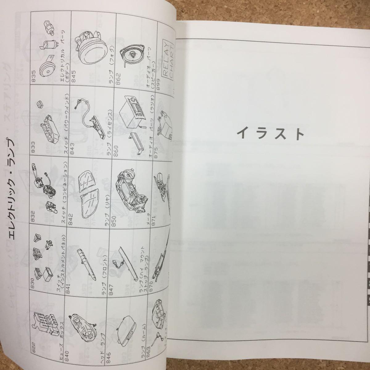 SUBARU R1 イラスト カタログ 1円売り切り_画像5