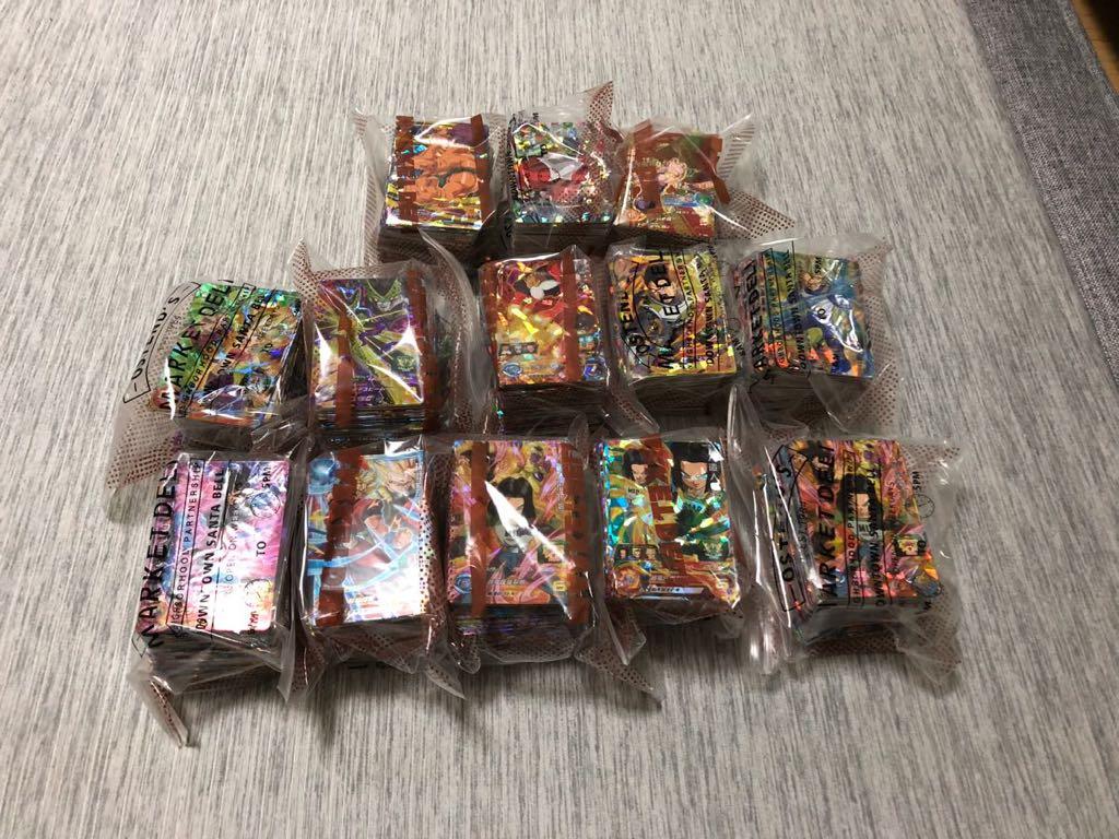 ドラゴンボールヒーローズ SR CP 合計約1300枚 セット_画像2