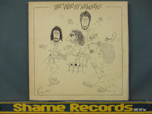 the who the who by numbers lp 5点で送料 ヤフオク