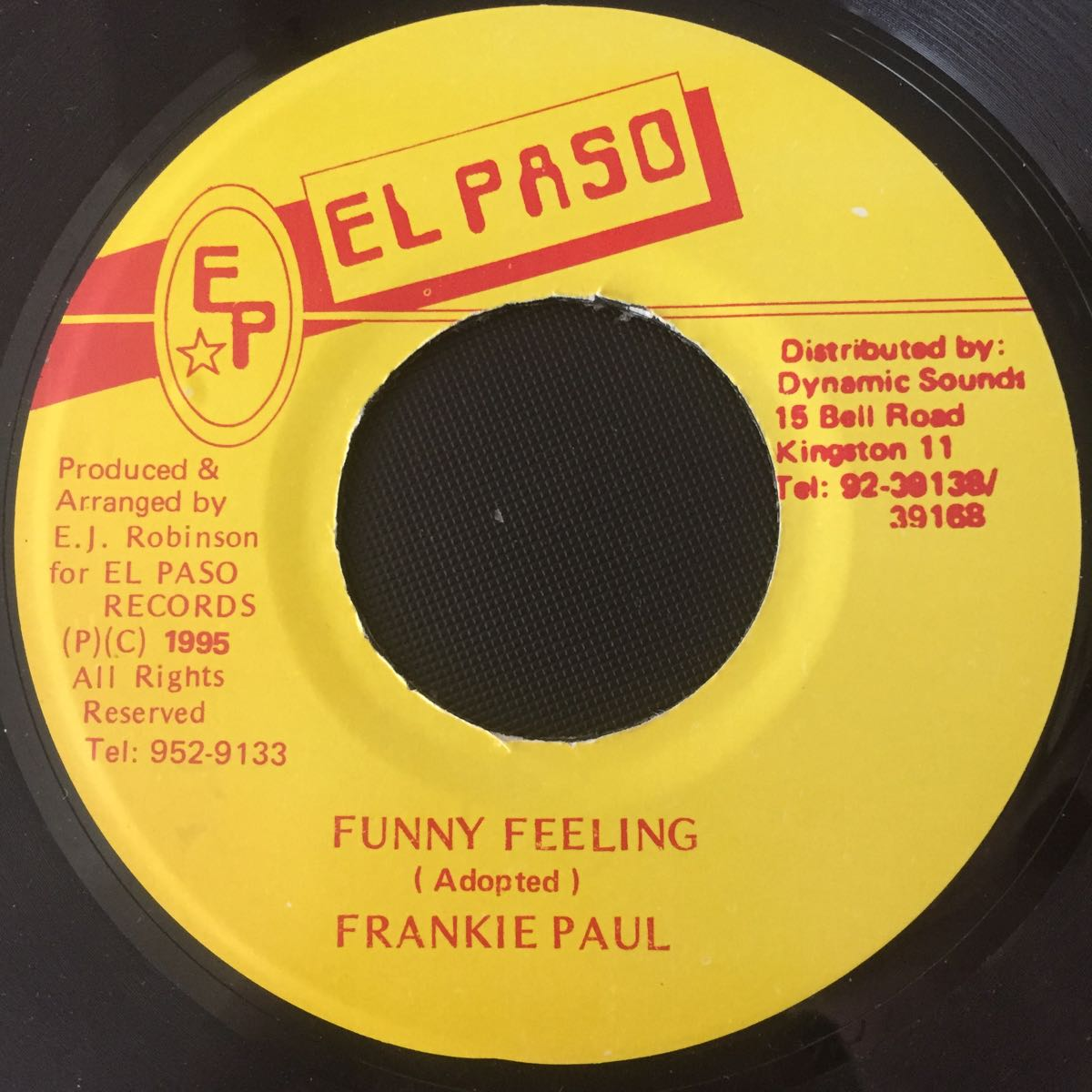 【試聴】FRANKIE PAUL/FUNNY FEELING 600円セール実施中!他絶賛出品中!_画像1