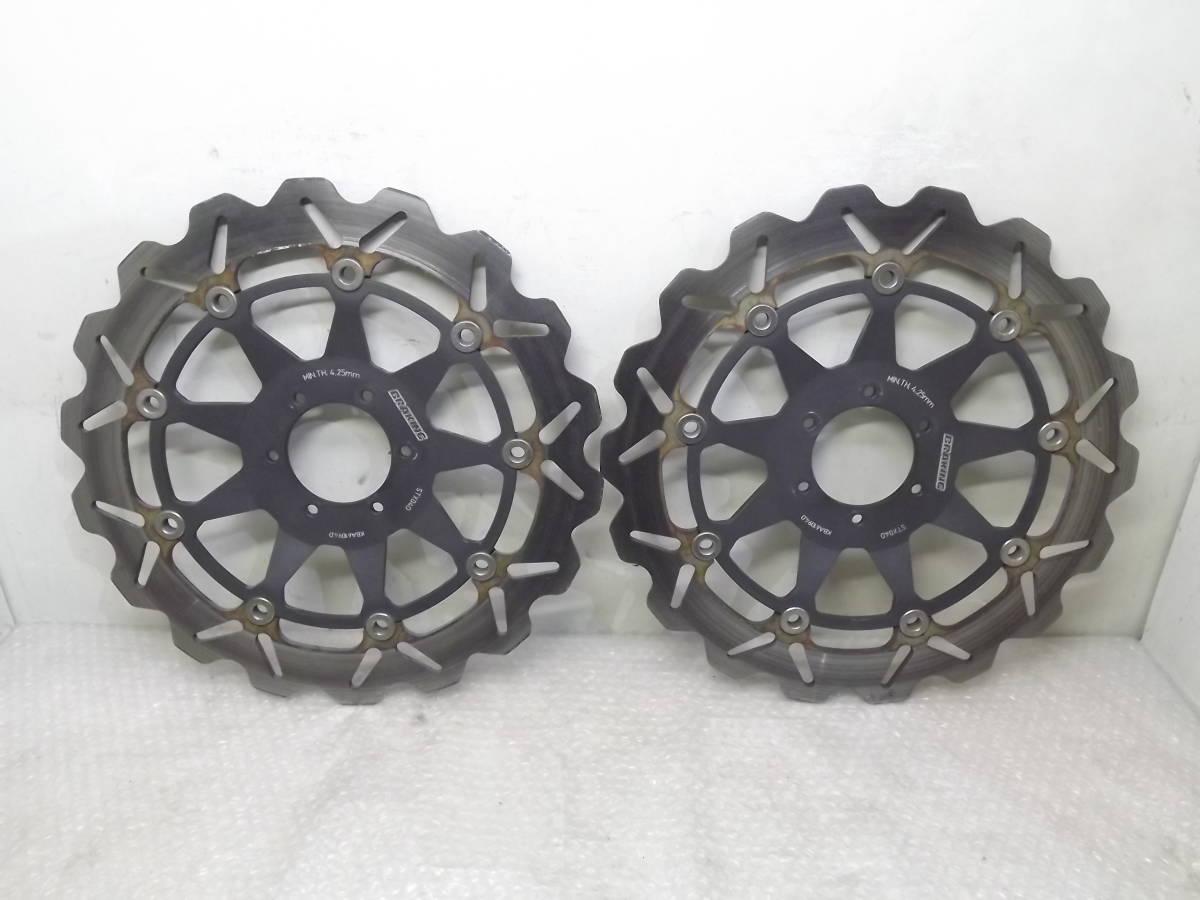 ブレーキング CB400SF VTR1000F RVF400 VFR400R CBR900RR RS250R 検 ブレンボ サンスター ガルファー VTR250 ホーネット250 NX4 RS125R NSR