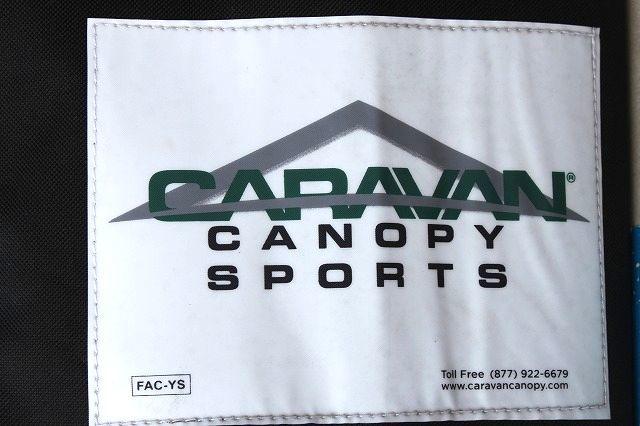 訳あり未使用品 CARAVAN CANOPY SPORTS キャラバン インスタント キャノピー 3m x 3m アウトドア/イベント_画像5