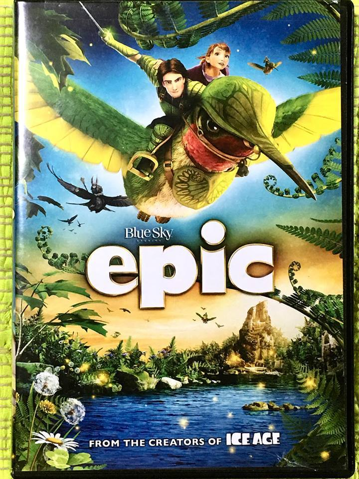 US製アニメの英語版DVD・Blue Sky epic FROM THE CREATORS OF ICE AGE♪