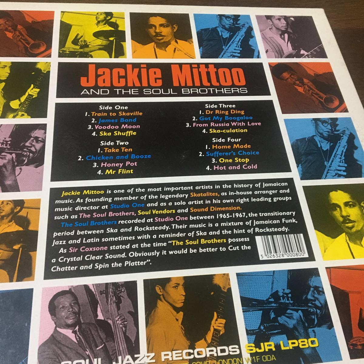 Jackie Mittoo AND THE SOUL BROTHERS★LAST TRAIN TO SKAVILLE_画像2