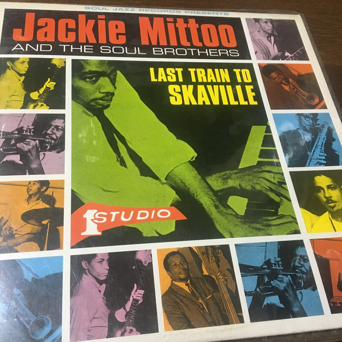 Jackie Mittoo AND THE SOUL BROTHERS★LAST TRAIN TO SKAVILLE