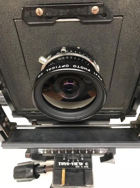 【4336】 TOYO-FIELD トヨフィールド 大判フィルム TOYO VIEW 大判 カメラ ボディ 蛇腹 専用レンズ おまとめ 驚愕のコレクション_画像10