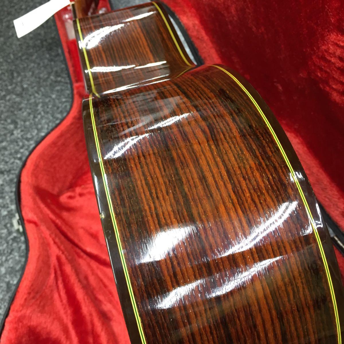 中古 Abe guitar 330 TOP単板 美品 日本製 630mmスケール 調整済 ハードケース付 _画像6