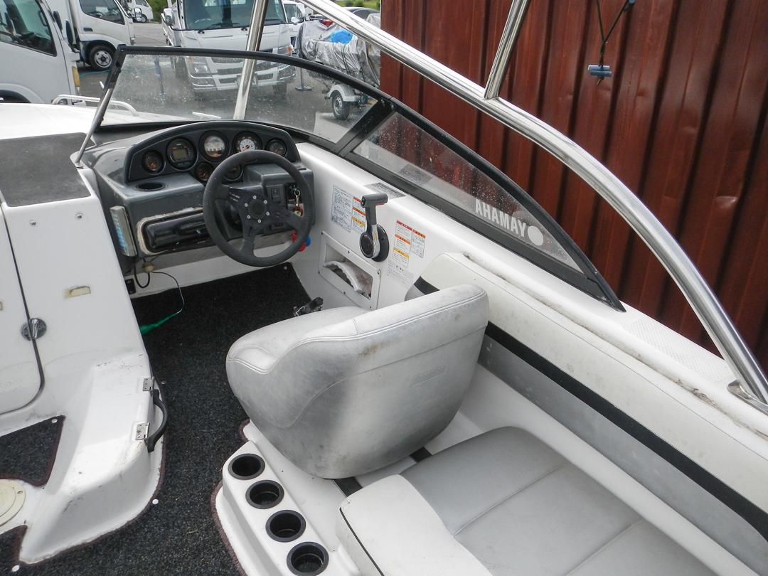 ヤマハ エアロギア AG-21BR EX F150 (E0J) エンジン快調 ウェイクボード艇 新品シートも付いてます トレーラー付き_画像6
